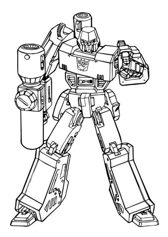 Free & Easy To Print Transformers Coloring Pages - Tulamama