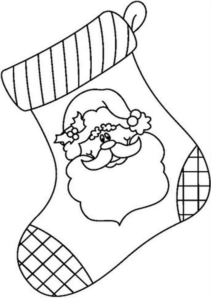 Fun Christmas Stocking coloring pages for your little one. They are free and easy to print. The collection is varied with different skill levels