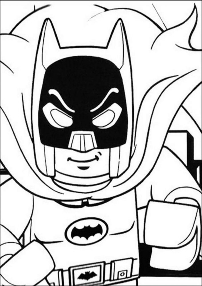 Fun Lego Batman coloring pages for your little one. They are free and easy to print. The collection is varied with different skill levels