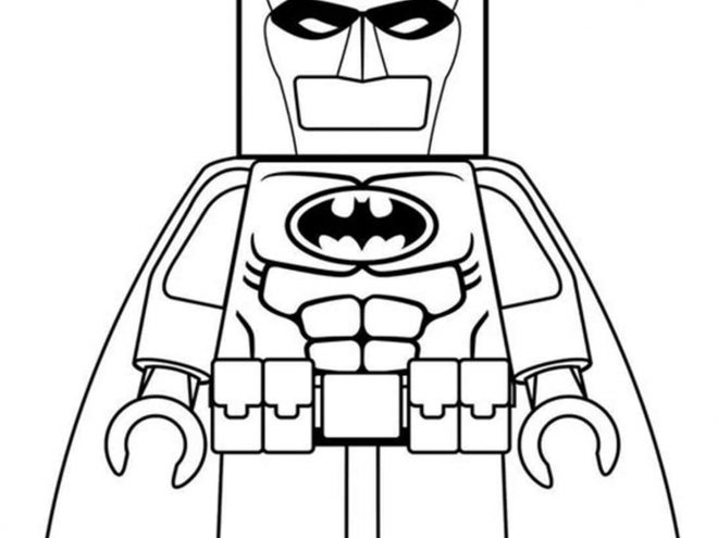 Free & Easy To Print Lego Batman Coloring Pages - Tulamama