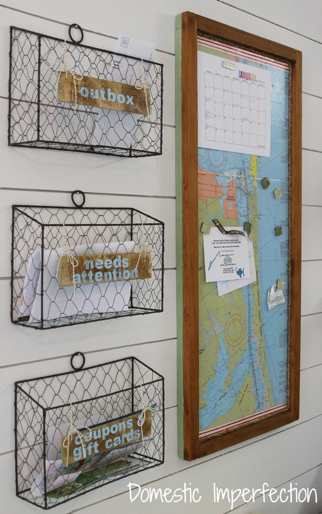 mail center in your home