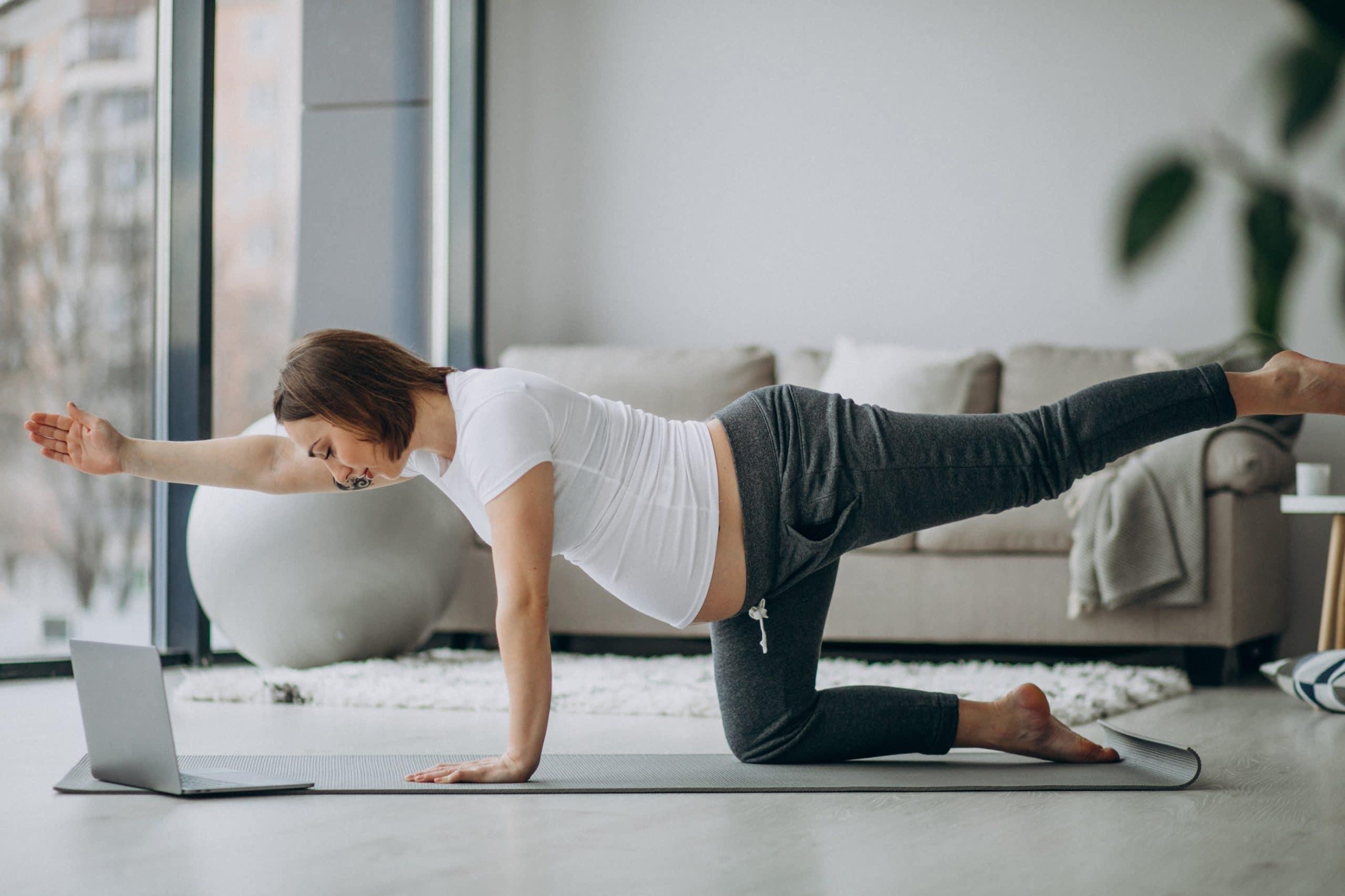 yoga pregnancy poses