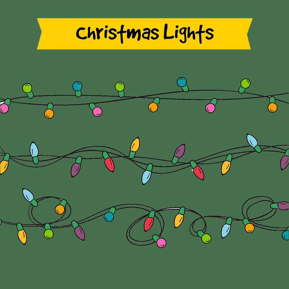 Christmas Lights Clipart