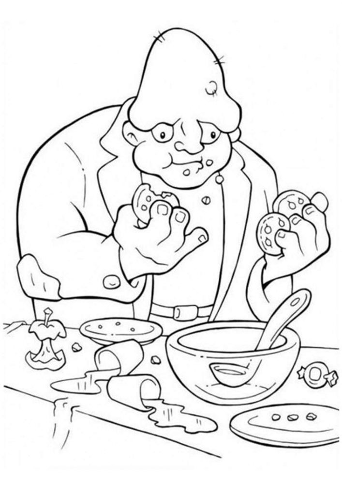 Fun Halloween coloring pages for your little one. They are free and easy to print. The collection is varied with different skill levels