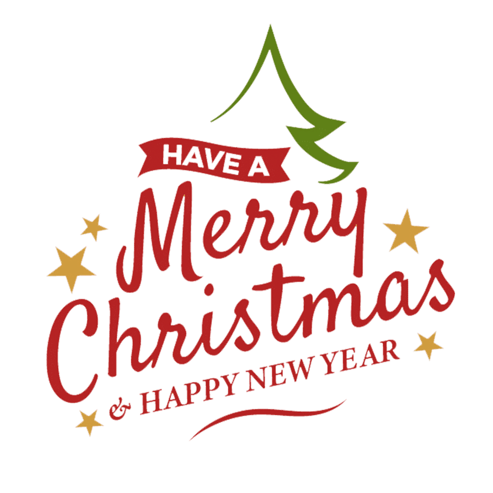 Free & Cute Merry Christmas Clipart For Your Holiday Decorations - Tulamama
