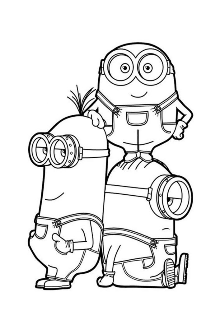 - Free & Easy To Print Minions Coloring Pages - Tulamama