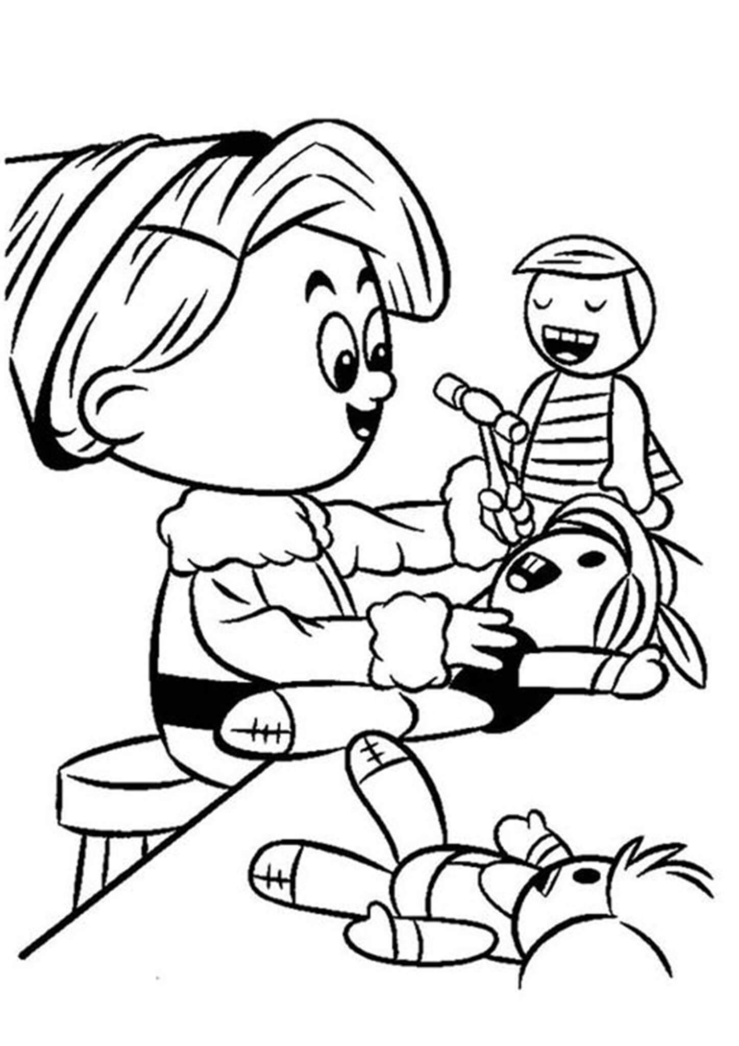Fun Elf coloring pages for your little one. They are free and easy to print. The collection is varied with different skill levels