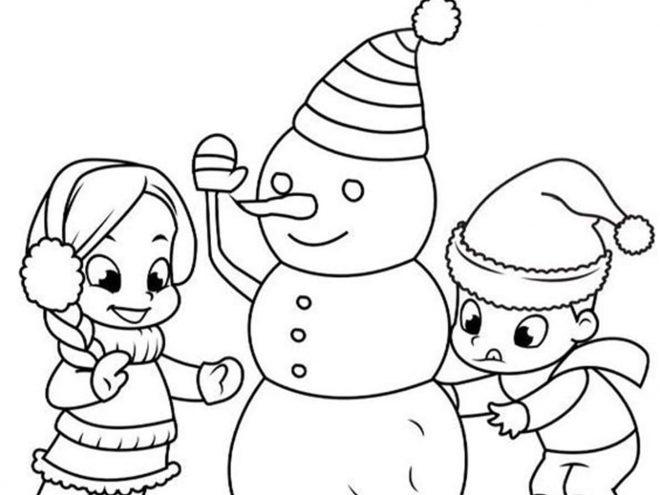 Free Printable Snowman Coloring Pages - Tulamama