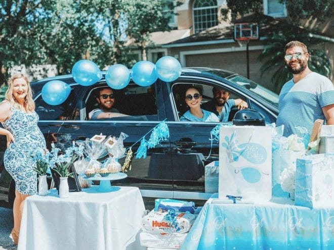drive by baby shower