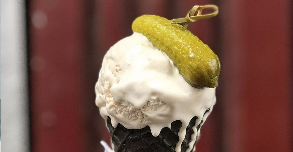 weird pregnancy cravings pickles and ice cream